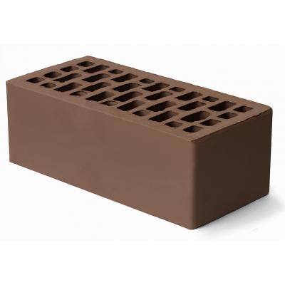 Кирпич облицовочный коричневый утолщ. 1,4 НФ