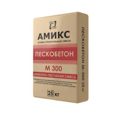 Пескобетон Амикс, М-300 25кг