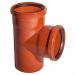 Тройник наружной канализации 110x110x45